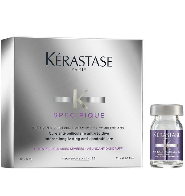 Kérastase Spécifique Cure Anti-Pelliculaire Anti-Récidive Ampola 12x6 ml