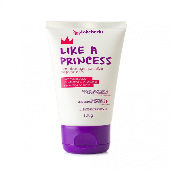 Pinkcheeks Creme Hidratante Like a Princess 100g