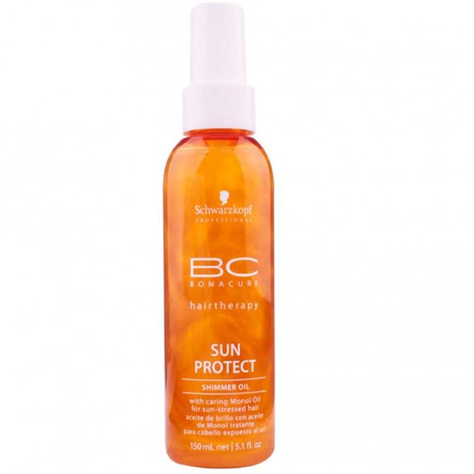 Schwarzkopf Spray de Brilho Bonacure Sun Protect Shimmer Oil 150 ml