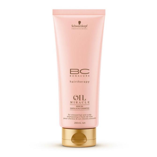 Schwarzkopf Professional BC Bonacure Oil Miracle Rose Shampoo 200ml